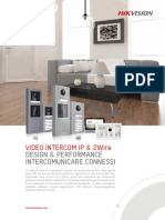 Brochure Intercom Ottobre 2020 Hikvision
