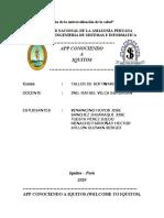 app conociendo Iquitos avance