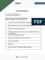 A2 - Lesson 50 - 10 echte Dialoge