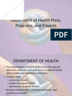 Department f Health Plans, Programs, Projects notes.pptx