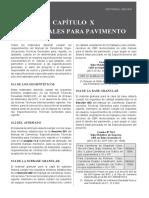 MATERIALES DE PAVIMENTOS