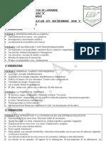 CONTENIDOS A EVALUAR 2010 - 2011  CS NATURALES 1º B