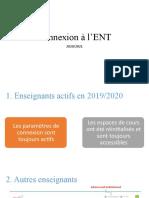 Connexion à l'ENT-2020
