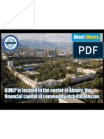 About Almaty