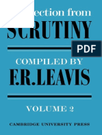 A Selection from Scrutiny Volume 2 by F. R. Leavis (z-lib.org)