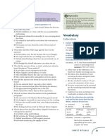 Pages- 33, 35 (page 33 vocab. exercise 6, page 35 exam spot exercises 4-6)