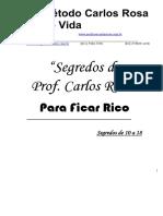 SEGREDOS PARA SER RICO DE 10 A 18