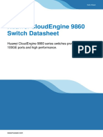 Huawei CloudEngine 9860 Switch Datasheet