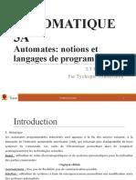 3 Programmation des automates
