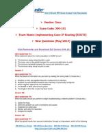 [May-2019] New PassLeader 300-101 Exam Dumps.pdf
