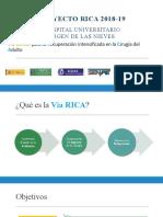 Presentación Via RICA - Unidad Colorrectal HVN