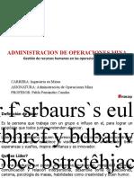 UNIDAD II - 6 CLASE ADMINISTRACION DE OPERACIONES MINA 2020 (1)