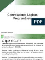 Apresentação sobre Controladores Lógicos Programáveis