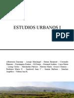 Espacio Público Estudios Urbanos I