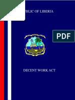 Decent Work Act