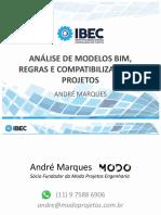 ANÁLISE DE MODELOS BIM REGRAS E COMPATIBILIZAÇÃO DE PROJETOS.pdf