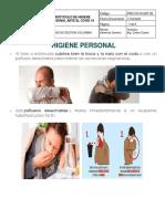 PUBLICACION No. 11 PROTOCOLO DE HIGIENE PERSONAL ANTE EL CORONAVIRUS