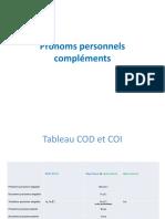 Pronoms personnels compléments (2)