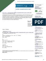 (Puc-SP) - abaixamento ponto congelamento_ peso molecular