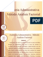 AUDITORIA ADM. METODO ANALISIS FACTORIAL-2