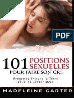 101 Positions Sexuelles Pour Faire Son Cri - Madeleine Carter.pdf