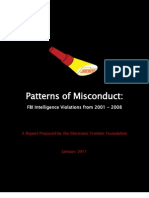 Patterns of Misconduct