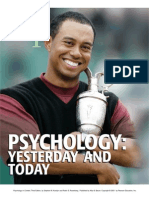 Chapter 1- Psychology Yesterday & Today