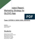 Glovo Report