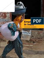 Employment in India Structural Problems