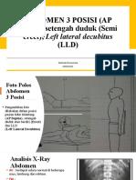 Referat Abdomen 3 Posisi_Rachmah Khoerunnisa_1820221151.pptx
