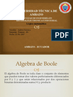 leyes de Boole