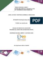 Lectura y escritura academica Unidad 1