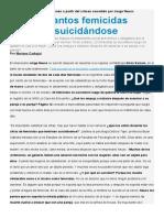 Psicólogas y legistas Parejas y femicidio
