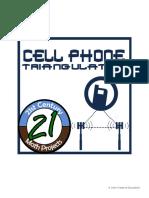 Cellphonetriagngulation Assignement 1