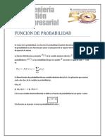 FUNCION DE PROBABILIDAD CJLA