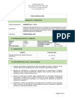 ficha  DESINFECTOL P-1210