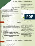 GEOMETRiA 10MO ECUACION CANONICA Y GENERAL DE ELIPSES