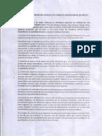Petitorio Marcha PUEBLOS ORIGINARIOS DE SALTA