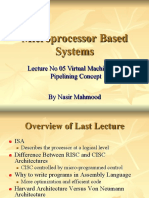 05 Microprocessor Systems  Lecture  No 05 VIirtual Machine and Pipelining concept