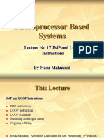 17 Microprocessor Systems  Lecture  No 17 JMP and LOOP Instructions.pdf