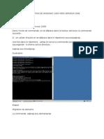 Procedure de Migration de Windows 2003 Vers Serveur 2008