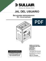 Manual secador Refrigerativo Sullair RD