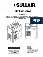 Manual secador Refrigerativo RC