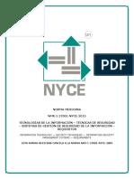 NMX-I-27001-NYCE-2015
