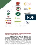 ADPF exige retomada do combate ao desmatamento na Amazônia