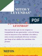 PPT MITOS Y LEYENDAS