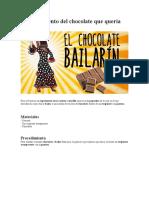 cacao experimento