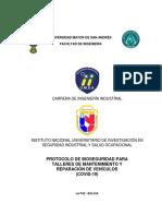PROTOCOLO DE BIOSEGURIDAD PARA TALLERES MECANICOS Y REPARACION DE VEHICULOS.pdf