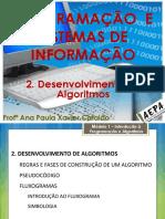 02 LP - 1ºano - Desenvolvimento de Algoritmos