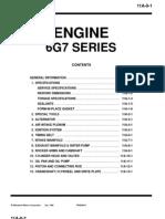 6g7 Engine details